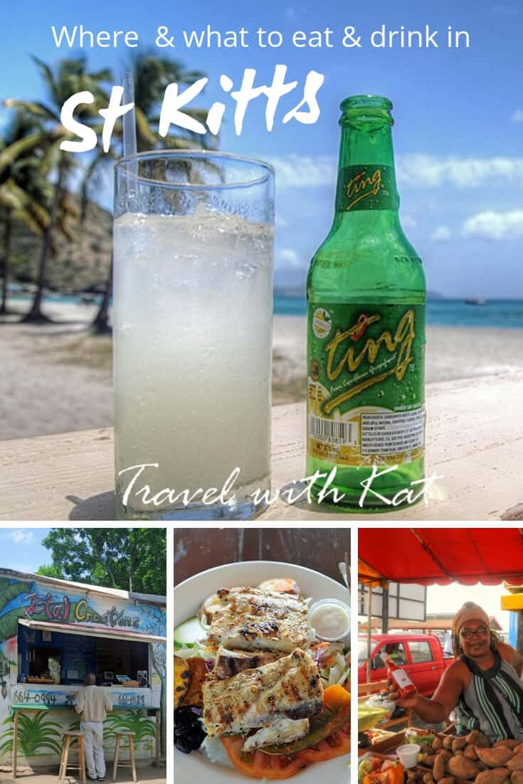 Where and what to eat and drink in St Kitts, the unspoilt Caribbean. #Food&Drink #StKitts #Caribbean #BestCaribbeanFood