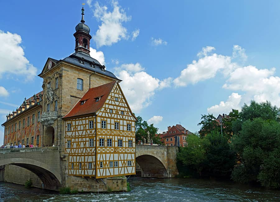 The Old town Hall Bamberg, Germany