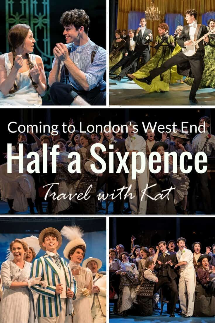 Record breaking hit musical Half a Sixpence transfers from Chichester Festival Theatre to the Noël Coward Theatre in London's West End
