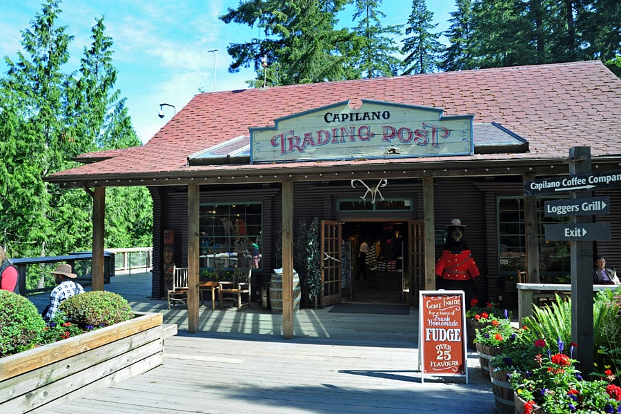 The Tradding Post, Capilano Suspension Bridge Park, Vancouver, British Columbia, Canada