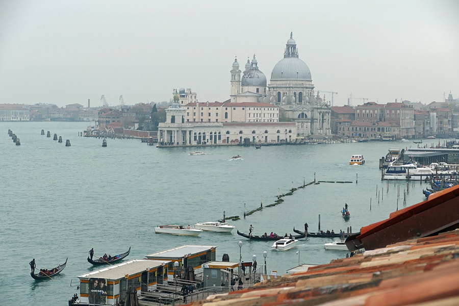 One of the views from room 502, Hotel Londra Palace, Venice, Italy