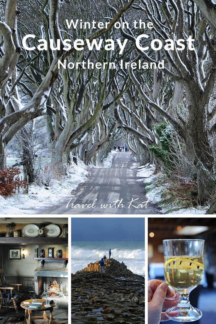 Visiting the Causeway Coast in Northern Ireland in winter #CausewayCoast #NorthernIreland #Ireland #winter #snow
