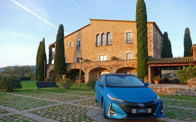 Spanish Road Trip: Exploring L'Emporda in a Prius Plug-in Hybrid