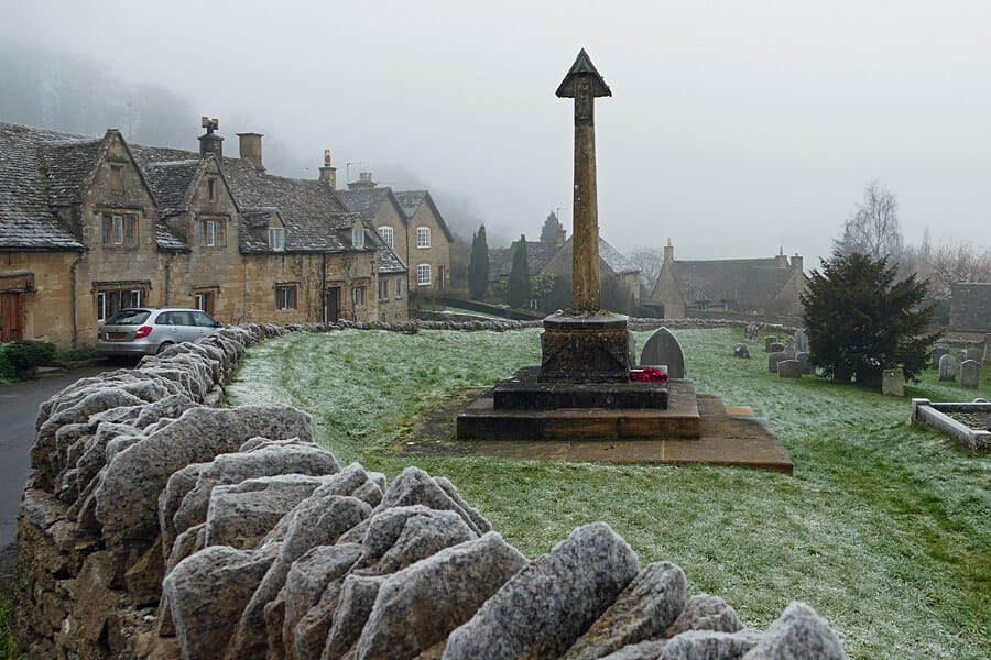 Snowhill, Cotswolds - used as the location for Bridget Jones' family Christmas where she first meets Darcy