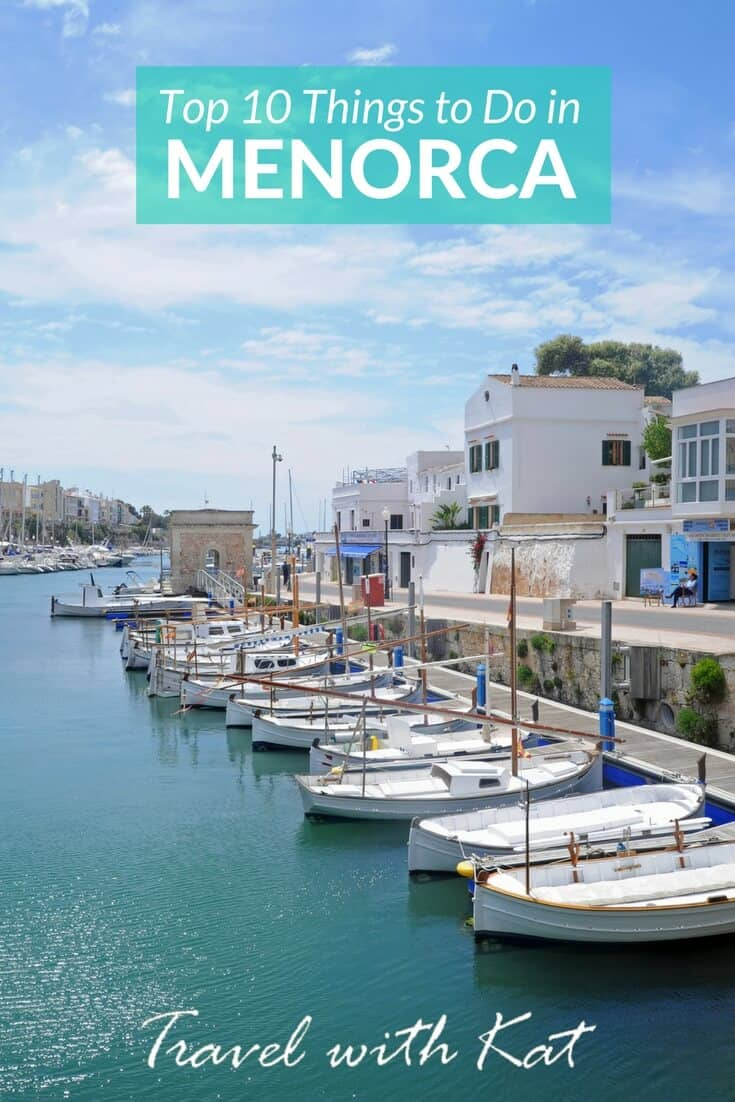 Top ten things to do in Menorca - With sumptuous seafood, great wine and gin, a fascinating ancient history, miles of stunning coastline and more beaches than Mallorca, the unspoilt island of Menorca has it all.