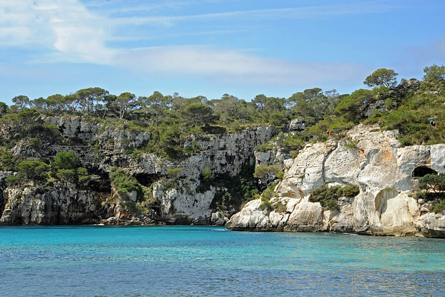 One of many spectacular views along the walking path, Cami de Cavalls, Menorca, Spain