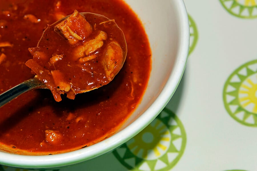 Spicy chicken 'pepe' soup recipe from West Africa