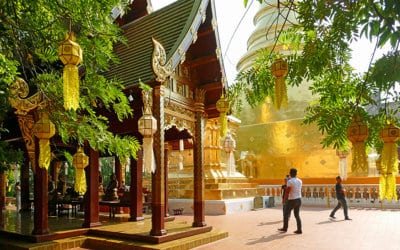 Instagramming Chiang Mai – Mesmerised by Gold