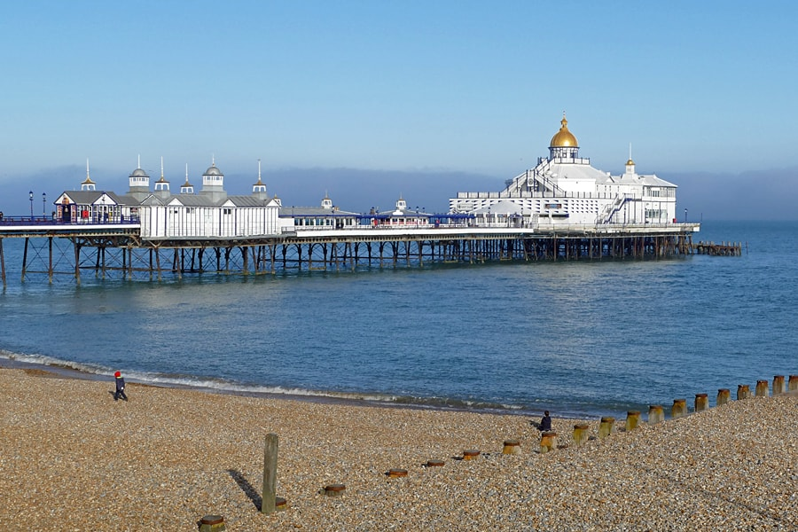Eastbourne's lovely pier, East Sussex, England
