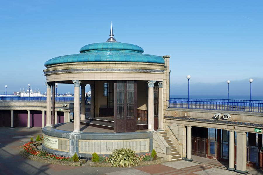 Eastbourne's beautiful bandstand