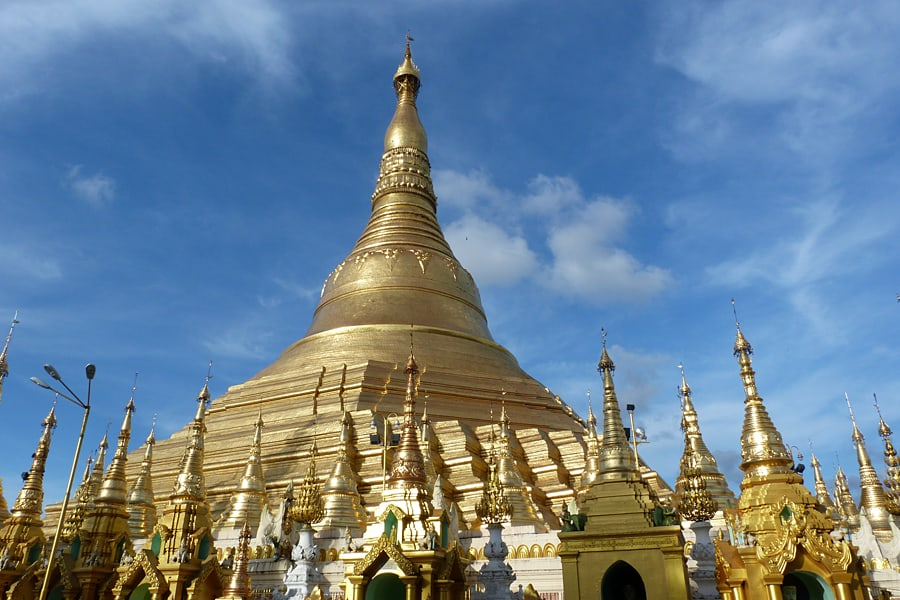 Shwedagon Pagoda, Yangon, Burma (Myanmar) One of my top 10 must-see places to visit in Burma