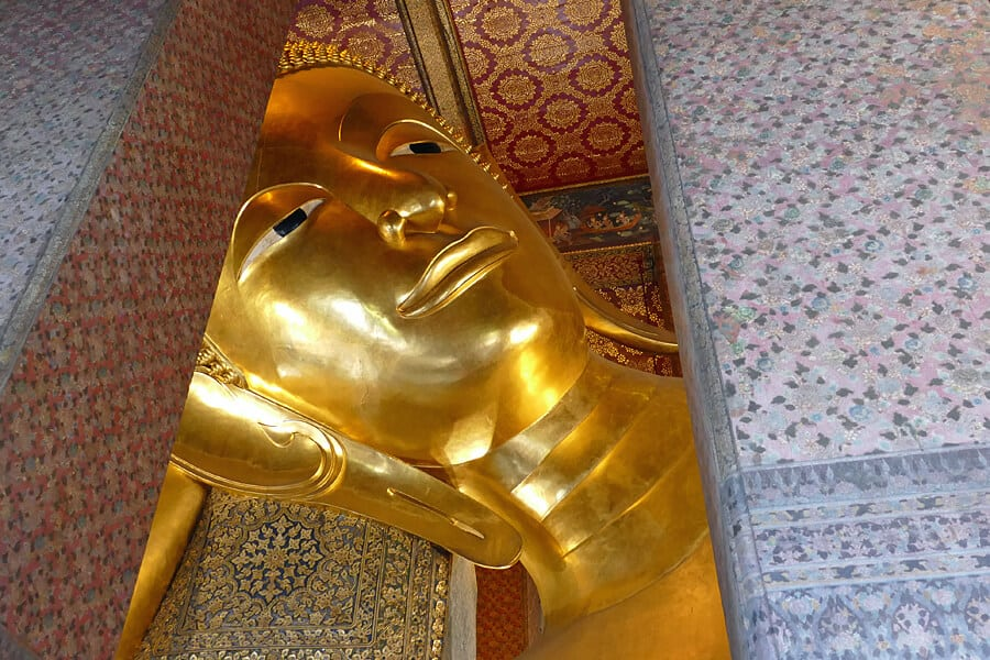 Wat Pho, one of the must see sights when spending 24 hours in Bangkok, Thailand