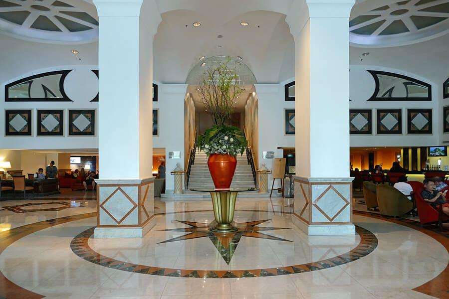 The Rembrandt Hotel lobby, Bangkok, Thailand