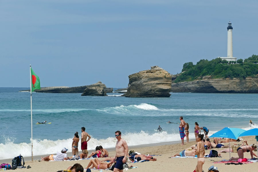 Biarritz in the French Basque Country