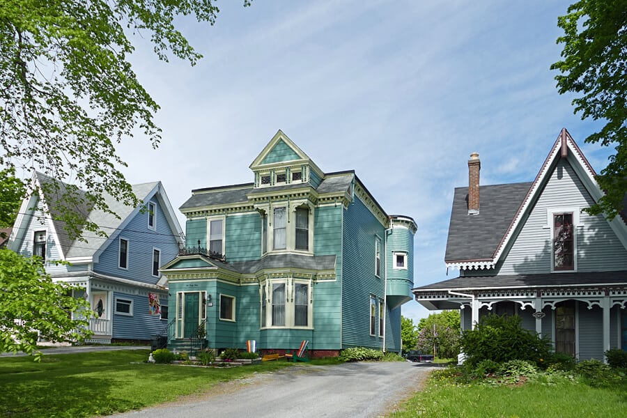 Queen Anne style architecture in Saint John, New Brunswick, Canada
