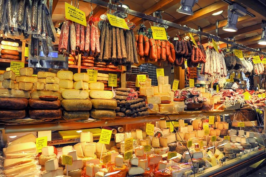 Olivar Market, Palma de Mallorca, Spain