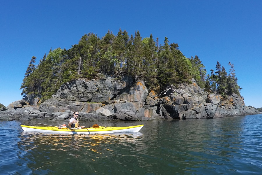 Kayaking in the Bay of Fundy - Day trips from Saint John - Things to do in Canada in spring