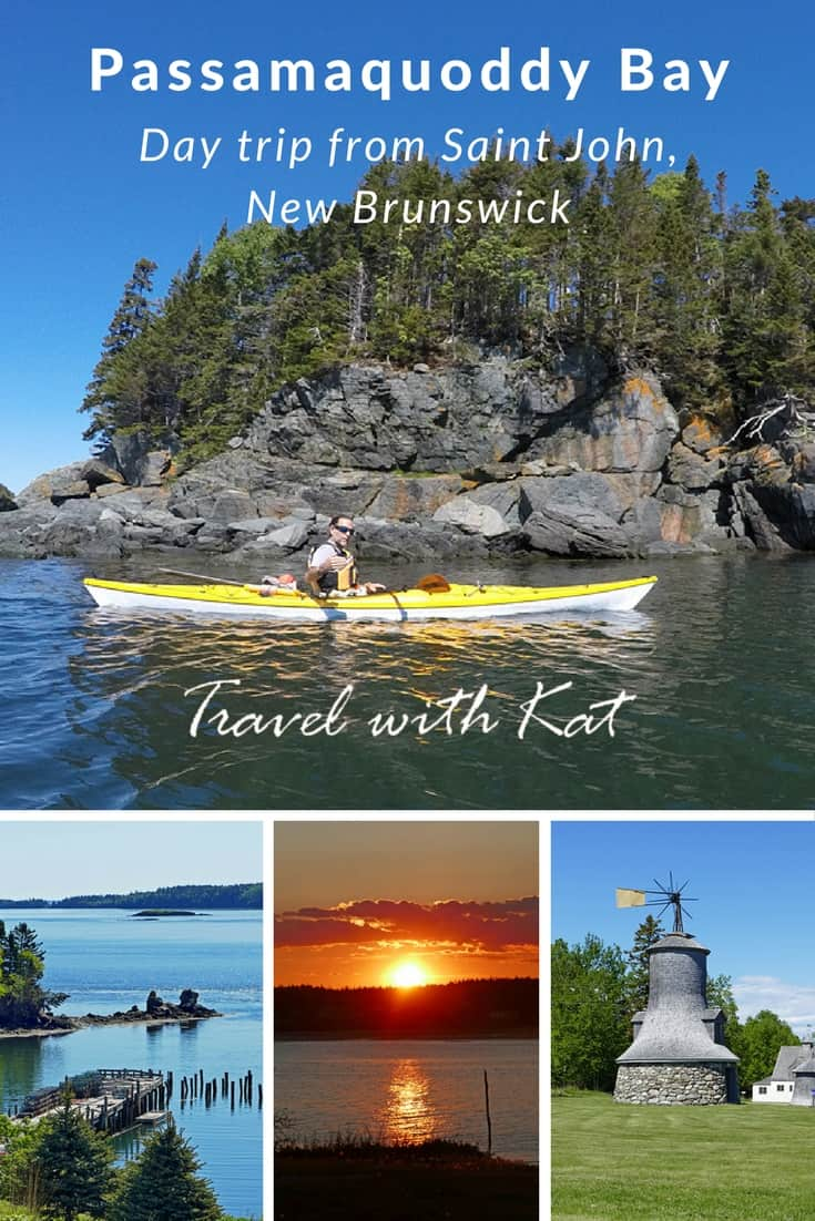 Passamaquoddy Bay - the first of 3 great day trip itineraries from Saint John, New Brunswick, Canada. Day 1 - Kayaking from Deer Island., stepping back in time on Ministers Island and fine dining at Rossmount Inn.