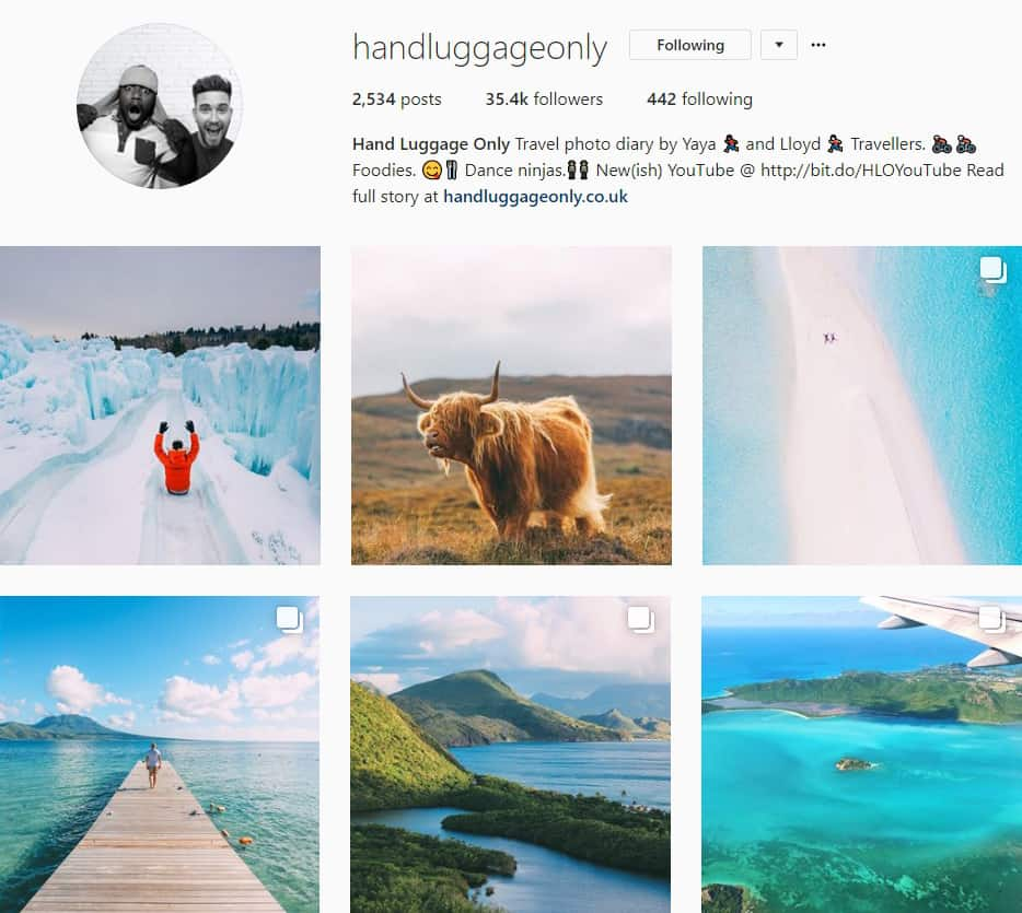 Top Travel Instagram Accounts to follow in 2018