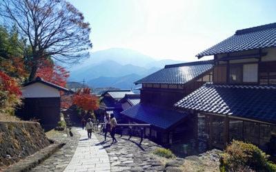 Magome, Gifu Prefecture, Japan