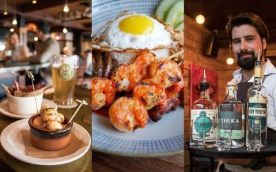 Top 20 cities in Canada for the best food and drink