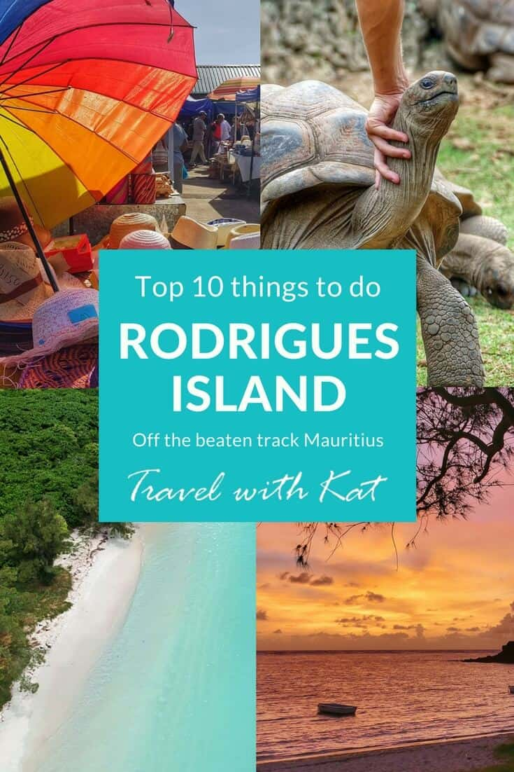 in Rodrigues Island, Indian Ocean - off the beaten track Mauritius