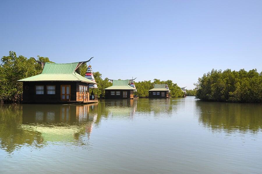 Honeymoon in West Africa - Floating River Lodges, Mandina Lodges, Makasutu, The Gambia