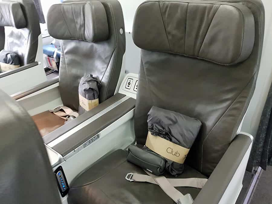 Air Transat Review | Club Class