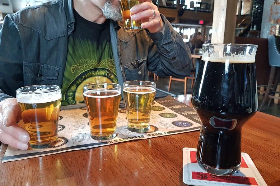 Amsterdam Brewhouse, Toronto, Canada