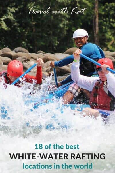 18 of the best white-water rafting locations in the world #whitewater #adventuretravel