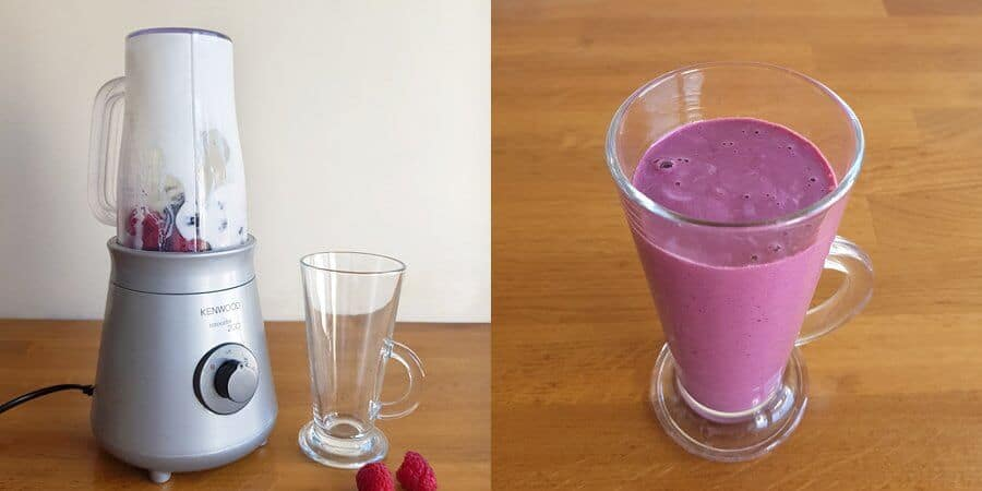 Healthy wild blackberry smoothie #smoothie #autumn #blackberry #healthysmoothie