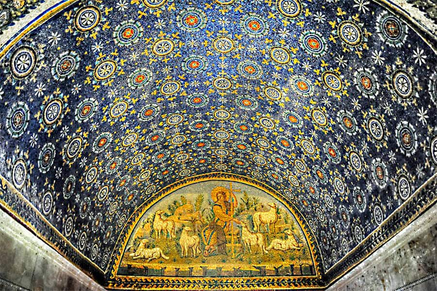 Ravenna Mosaics by Kathryn Burrington, one of my 7 wonders of the world