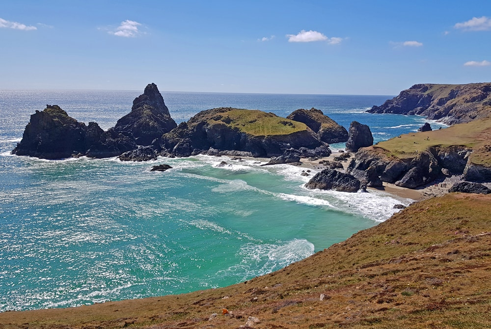 Beautiful places to visit in England, Kynance Cover, Cornwall