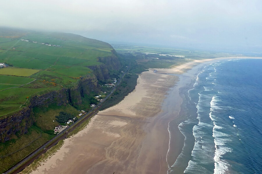 Downhill Beach, Co. Derry | Dragonstone | Game of Thrones tour from Belfast