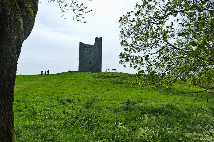 Audley's Field, Castle Ward, Co. Down | Robb Stark's camp at the Battle of Oxcross | Game of Thrones filimng locations in Northern Ireland