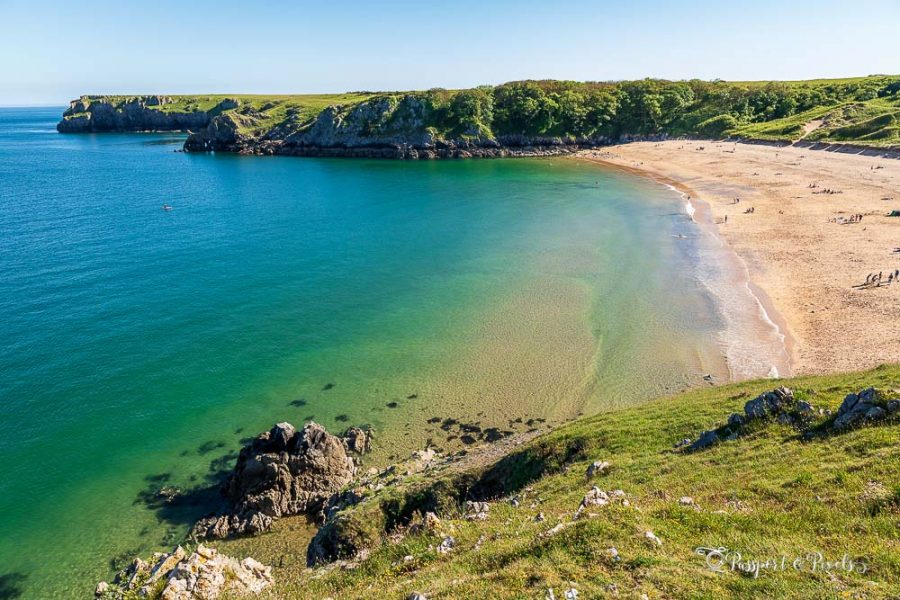 Barafundle Bay, one of the mmost beautiful beaches in the UK
