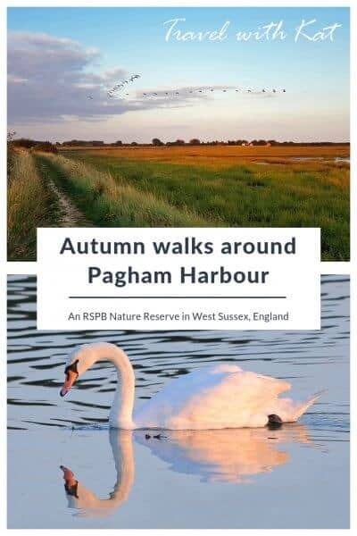 Autumn walks around Pagham Harbour, West Sussex, England