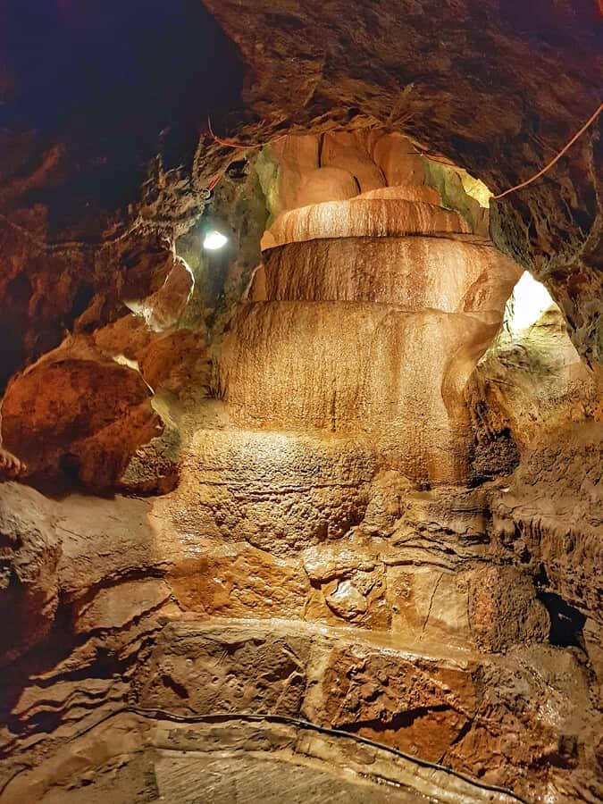 Gough's Cave in Cheddar Gorge