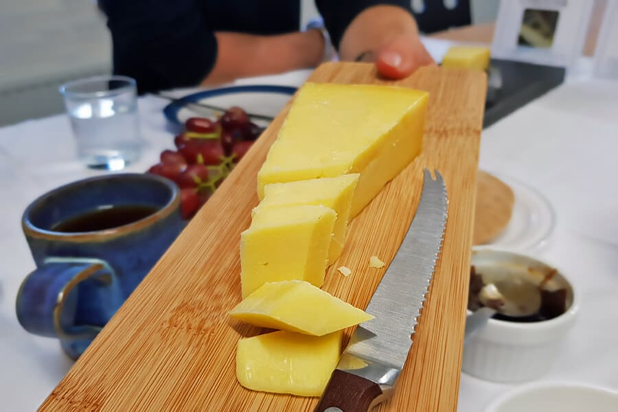Pairing Cheddar Cheese