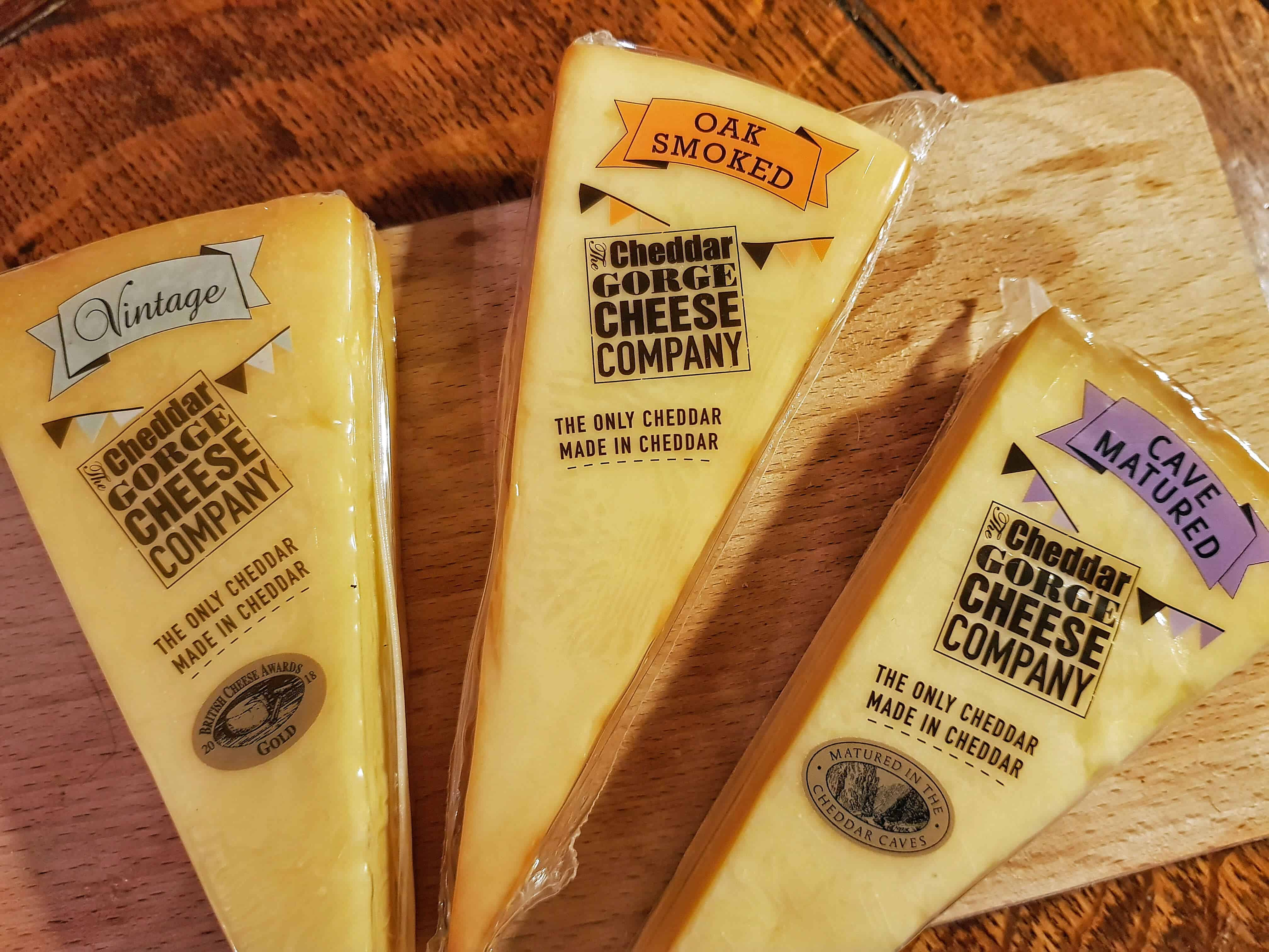 Cheddar Gorge Cheeses
