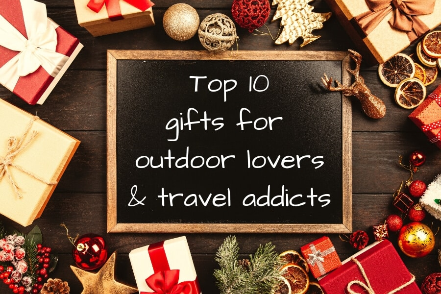 Top 10 gifts for outdoor lovers and travel addicts