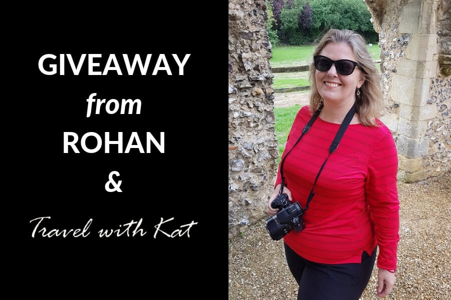 Rohan giveaway with Travel With Kat