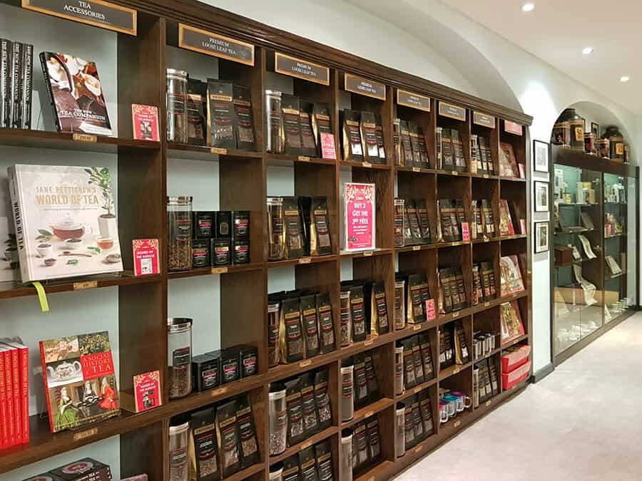 Twnings Tea Shop, London