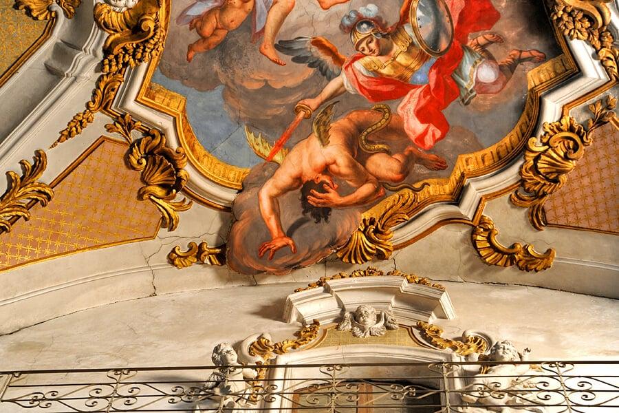The last brush stroke of by Olivio Sòzzi, Basilica di Santa Maria Maggiore , Ispica, Sicily, Italy