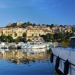Calvi Marina by travel photographer, Kathryn Burrington