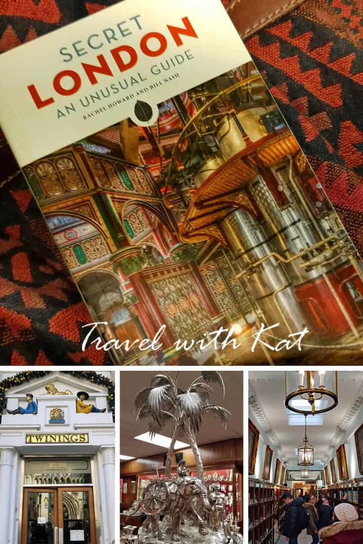 Secret London - An Unusual guide book review. A fabulous collection of unusual places to visit in #London, #England