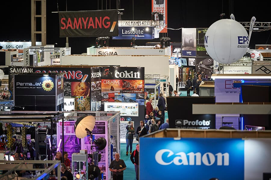 The Photography Show at the NEC in Birmingham