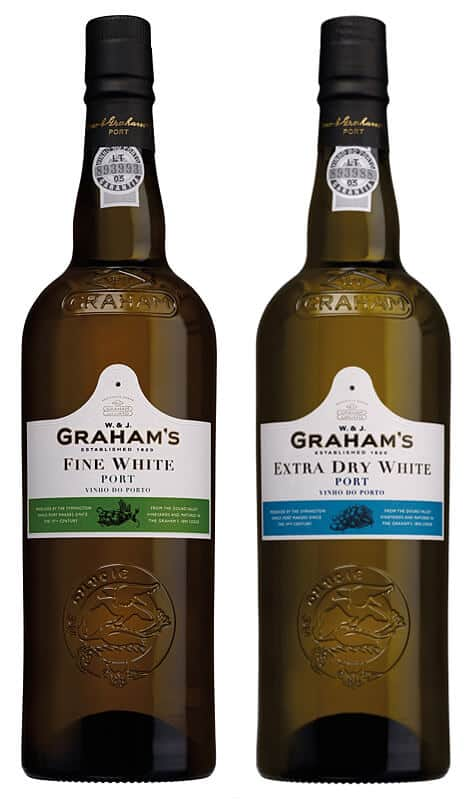 Graham's White Port, one of the best ports for making Porto Tónico