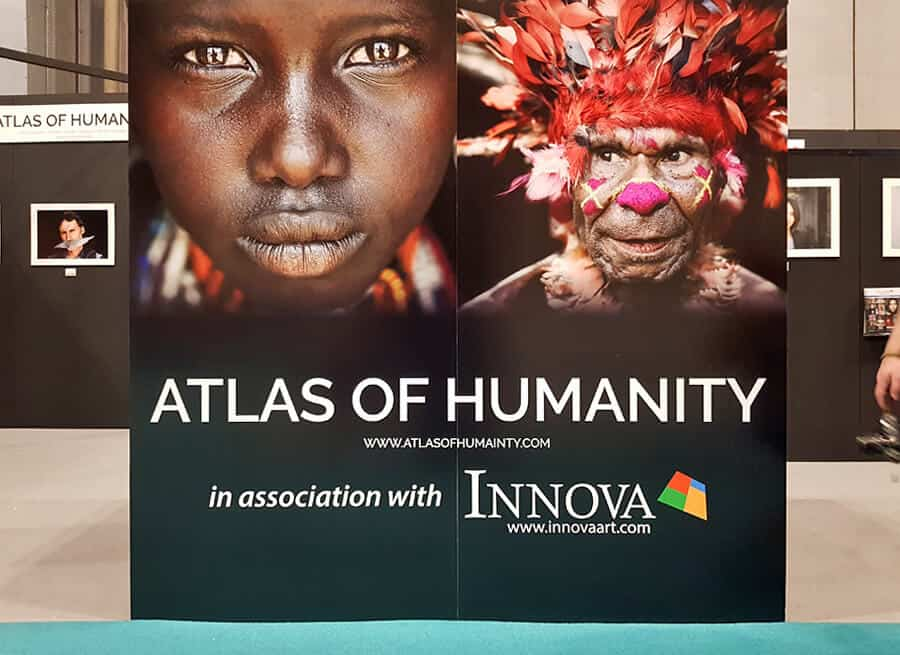 Atlas of Humanity exhibition at The Photography Show 2019