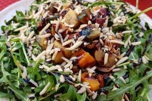 A superb salad, Casa do Prego, Lagos